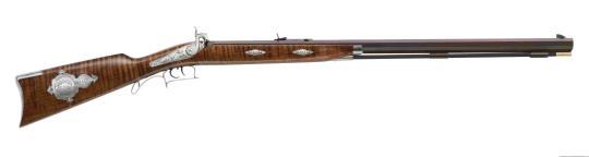 Pedersoli Perkussionsgewehr TRYON TARGET Ahorn De Luxe .54