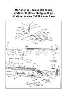 Explosionszeichnung MORTIMER SHOTGUN Flint