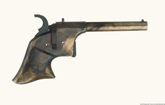 Pedersoli Perkussionspistole DERRINGER RIDER Bunt Per 4,5 mm