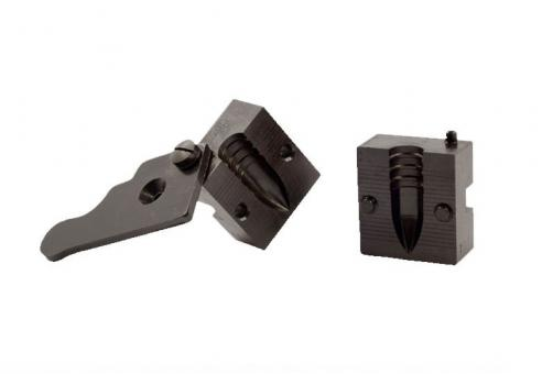 Pedersoli Stahlkokillenblock Spitzer Geschoss-1 Form .459 /500 grs (11,66 mm)