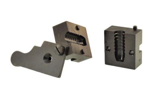 Pedersoli Stahlkokillenblock Langgeschoss 1 Form .451 /500 grs (11,45 mm)