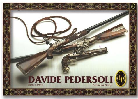 Pedersoli Buch Katalog Davide Pedersoli + Neuheiten Versandkostenfrei